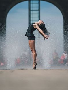 Urban Dancer in Mexico by Omar Z.Robles