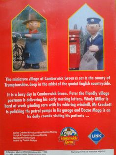 A Busy Day in Camberwick Green / Video 58min Animation Kids Postman Childrens. | eBay