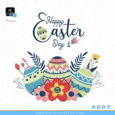 Spring holiday Vectors, Photos and PSD files Happy Easter Greetings, Happy Easter Day, Easter Greeting Cards, Pink Crafts, Easter Crafts, Easter Illustration, Easter Wallpaper, Watercolor Art Diy, Easter Banner