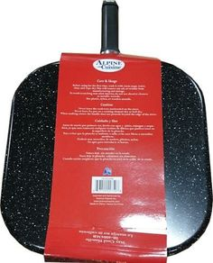 Alpine Cuisine 28cm Square Griddle Pan - 11 Inch Non-Stick Interior
