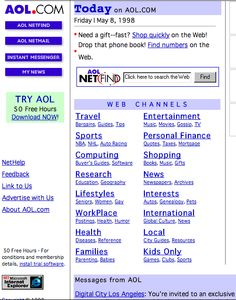 What the Web Looked Like Before Google - Rebecca Greenfield - The Atlantic Wire