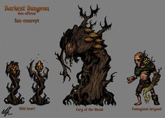 Like the sharkman Fan concept art - Darkest Dungeon Dark Fantasy, Medieval Fantasy, Fantasy Art, Monster Concept Art, Fantasy Monster, Lovecraftian Horror, Darkest Dungeon, Horror Monsters, Nerd Art