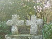 Limerzel Croix Géminées - Morbihan - Bretagne Sud (Crédit photo : Rochefort-en-Terre Tourisme)