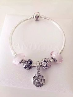 50% OFF!!! $159 Pandora Charm Bracelet. Hot Sale!!! SKU: CB01190 - PANDORA Bracelet Ideas