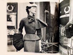 LANVIN IN L'OFFICIEL OCTOBER 1951 PHOTOGRAPHED BY POTTIER
