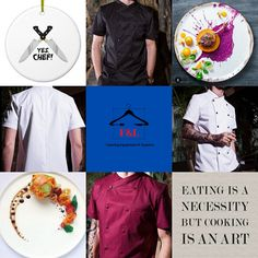 F&L Catering Suppliers where the chef is always right. The number one place for unique chef attire with attitude. High quality and delivered straight to your door. Long sleeve, short sleeve chef jacket. Mens, Womens, & Unisex Chef jackets, Chef trousers, chef hats & aprons.New fashion chef jackets for best chefs in 2020. Chef Hats, Catering Equipment, Aprons, Chefs, Chef Jackets, Attitude, Trousers, Number, Unisex