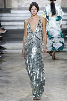 Metallic Shine- Temperley London Spring Summer 2016