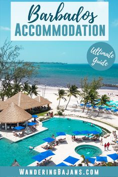 The ultimate guide to Barbados accommodation. From budget and mid range hotels to luxury and All Inclusive hotels. We are sharing some of the best, most popular places to stay in Barbados! Get ready to book your Barbados vacation now. Barbados Accommodation, Barbados Travel, Beach Travel, Vacation Destinations, Vacation Spots, Greece Vacation, Vacation Ideas, Caribbean Vacations, Caribbean Sea