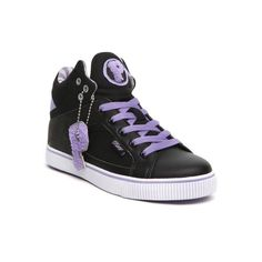 Vanessa and Angela ($30) ❤ liked on Polyvore featuring shoes, sneakers, pastry, pastry shoes, purple, star shoes, purple shoes and checkered shoes