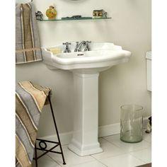 16 Best Pedestal Sink Images Pedestal Sink Sink Pedestal