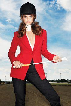 """Clothes Horse""   Model: Barbara Palvin, Photographer: Terry Richardson, Harper's Bazaar US, September 2012"