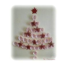 #handmade #diy #christmastree #byme #complete #tutorial in #blog!  #árboldenavidad #hechoamano #htm #tutorial #completo en el #blog!  #arbredeNadal #fetamá #tutorial al #blog!