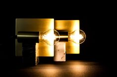 Gran Turismo Marble and Brass Lamp / Inspired by classic car Alfa Romeo / Design by Davide G. Aquini / Produced by Apuana Corporate