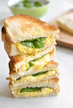 Breakfast Grilled Cheese Sandwich
