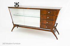 Mid Century Sideboard Credenza Cabinet Buffet Vintage Retro Scandi 60s Walnut