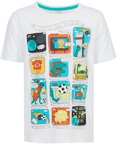 Pure Cotton Assorted Cartoon Boys T-Shirt (1-7 Years) £3 40% OFF! #bestdressed #fashion #ukhd #style #deal http://www.bestdressed.co.uk