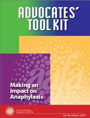 AAFA Anaphylaxis toolkit