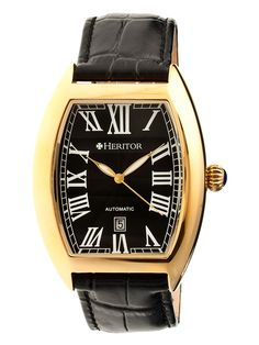 Men's Redmond Stainless Steel Watch by Heritor Automatic at Gilt