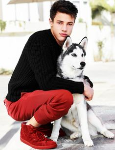 Cameron Dallas Adopts Some Random Dog at a Photoshoot - Superfame
