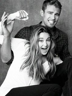 Shailene Woodley et Théo James ♡