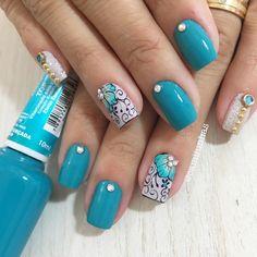 Fall Nail Art Designs, Nail Polish Designs, Cute Nail Designs, Stylish Nails, Trendy Nails, Cute Nail Colors, Pedicure Designs, Butterfly Nail, Fancy Nails