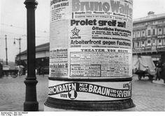 Wahlwerbung Landtagswahl April 1932