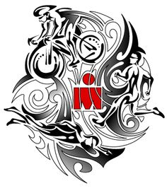 Custom commission - Large Ironman tribal design. www.sbink.co.uk
