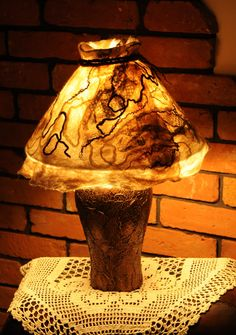 Ocieplamy jesienne wieczory. - Magdekor - Magdalena Donat Table Lamp, Lighting, Home Decor, Table Lamps, Decoration Home, Room Decor, Lights, Home Interior Design, Lightning