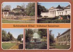 schönebeck elbe  | Schönebeck (Elbe) Volksbad Salzelmen [566] - €1.00 : Karten-Himmel ...