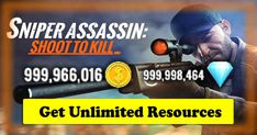 Sniper Gun Shooter: Free Shooting Games - FPS Apk Mod Unlimited coins,Diamond,Ad Free for Android Cheat Online, Hack Online, Assassin Game, Sniper Games, Gaming Tips, Android Hacks, Shooting Games, Mobile Game, Free Games