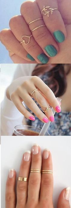 Stylish midi rings. Which one would YOU choose? Click on the picture to get it!