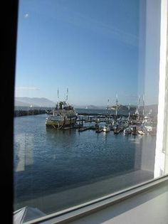 Fog Harbor Fish House: view from one of the windows behind our table
