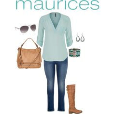 The Perfect Blouse with maurices: Contest Entry by jmc6115 on Polyvore featuring maurices