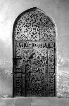 """zindag-i: """" """"Carved Wall"""" by Ravi Chandra Cultural Architecture, Islamic Architecture, Beautiful Architecture, Beautiful Buildings, Art And Architecture, Grand Entrance, Entrance Doors, Doorway, Portal"""