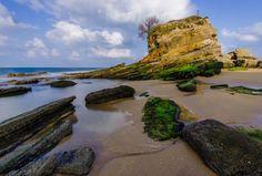 Place: Playa el Camello, Santander / Cantabria, Spain. Photo by: Unknown