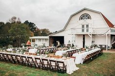 """Sweetly southern, let's this perfect purveyor of the """"slow wedding movement"""" seduce you with it's beautiful barn."""