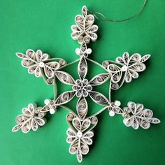 intricate snowflake, so lovely