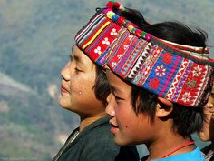 Akha Muchi children, Laos | Flickr - Photo Sharing!