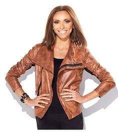 Giuliana Rancic Express Limited Edition Distressed Jacket
