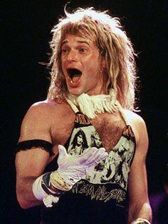 David Lee Roth - Bloomington, IN - Van Halen - had a good thing goin with VH.I'll never understand. Alex Van Halen, Eddie Van Halen, Hair Metal Bands, David Lee Roth, Glam Metal, Gene Simmons, Cool Bands, Hard Rock, Rock N Roll