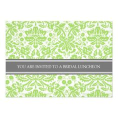 >>>Smart Deals for          	Lime Gray Damask Bridal Lunch Invitation           	Lime Gray Damask Bridal Lunch Invitation This site is will advise you where to buyDeals          	Lime Gray Damask Bridal Lunch Invitation Online Secure Check out Quick and Easy...Cleck See More >>> http://www.zazzle.com/lime_gray_damask_bridal_lunch_invitation-161910309543625913?rf=238627982471231924&zbar=1&tc=terrest