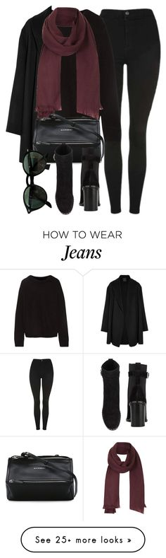 """""""Untitled #7098"""" by laurenmboot on Polyvore featuring Topshop, The Elder Statesman, Agnona, Givenchy, rag & bone and Ray-Ban"""