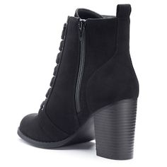 Candie's® Couture Women's Block Heel Ankle Boots