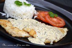 Encore une délicieuse sauce pour accompagner le poisson ou les viandes blanches :-) Pour les ingrédients, à vous de doser... j'ai fait...