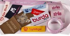 Namensbänder - Textiletiketten - Namensetiketten - Wäscheetiketten - gewebte Stoffbänder - Geschenkbänder - Webnamen - Startseite