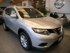 2014 Nissan Rogue SV AWD SV 4dr Crossover Wagon 4 Doors Silver for sale in Greenfield, WI Source: http://www.usedcarsgroup.com/used-nissan-for-sale-in-greenfield-wi