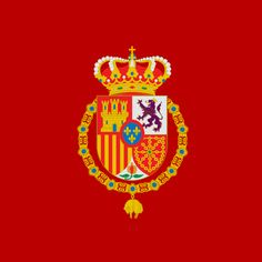 Estandarte o pendón real de Felipe VI de #España  | Royal standard of Philip VI of #Spain