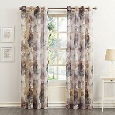 Sun Zero Andorra Grommet-Top Curtain Panel-JCPenney