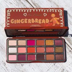 Also Faced Gingerbread Spice Holiday Eyeshadow Palette . - Also faced Gingerbread Spice Holiday Eyeshadow Palette # holidays - Makeup Dupes, Makeup Brands, Skin Makeup, Makeup Cosmetics, Best Makeup Products, Makeup Brushes, Beauty Products, Makeup Eyeshadow, Stila Cosmetics