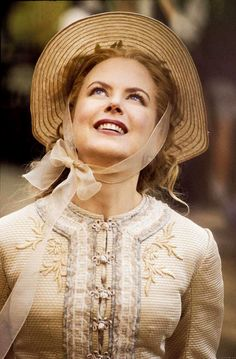 Nicole Kidman as Ada Monroe in Cold Mountain, 2003 / Costume Design by Carlo Poggioli and Ann Roth Nicole Kidman, Period Costumes, Movie Costumes, Katharine Ross, Cold Mountain, Renee Zellweger, Period Outfit, Keith Urban, Film Serie
